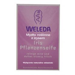 Mydło roślinne z irysem - WELEDA