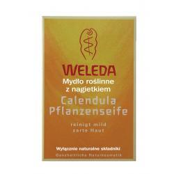 Mydło roślinne z nagietkiem - WELEDA