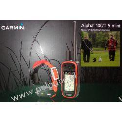 Garmin Alpha 100 z obrożą T5 Mini (śledzenie + sygnalizacja świetlna za pomocą diody) Zwierzęta
