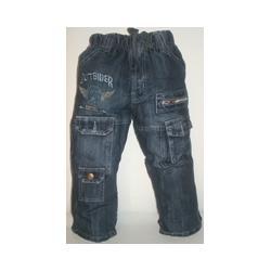 Spodnie jeansowe bojówki  104   NOWE
