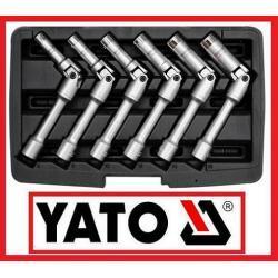Zestaw kluczy do świec żarowych 6 części od 8 do 16 mm w walizce