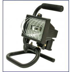 Lampa halogenowa przenośna 400 W + żarnik GRATIS 82789