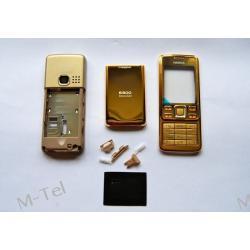 Obudowa Nokia 6300 Sirocc GOLD ALUMINIUM ORG
