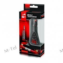 Ładowarka Samochodowa Micro USB MOTOROLA, NOKIA, HTC, SAMSUNG i inne GT PHANTOM F1 STYLE