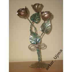 Róże, figturki, metaloplastyka, ozdoby,upominki