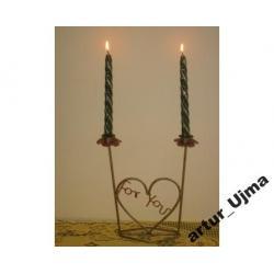 Świecznik stołowy, świeczniki, dekoracje,ozdoby