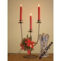 Świecznik, świeczniki, dekoracje, NOWOŚĆ
