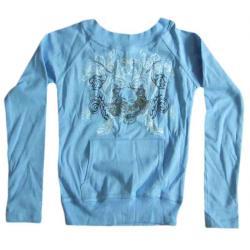 Bluza niebieska r.S