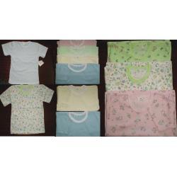 Koszulki bawełniane krótki rękaw  80