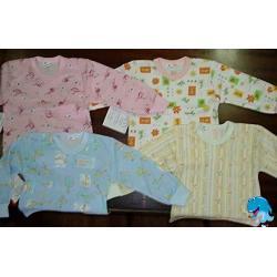Koszulki bawełniane długi rękaw 116-122
