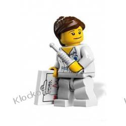 8683 PIELĘGNIARKA KLOCKI LEGO MINIFIGURKI