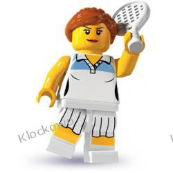 8803 TENISISTKA KLOCKI LEGO MINIFIGURKI