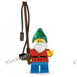 8804 - OGRODOWY GNOM (LAWN GNOME) - KLOCKI LEGO MINIFIGURKI