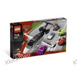 8638 UCIECZKA SZPIEGOWSKIM ODRZUTOWCEM ( Spy Jet Escape) KLOCKI LEGO CARS™ (AUTA) Kompletne zestawy