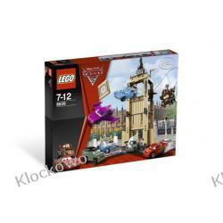 8639  UCIECZKA Z WIEŻY ZEGAROWEJ (Big Bentley Bust Out) KLOCKI LEGO CARS™ (AUTA)