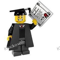 8805 ABSOLWENT (Graduate with diploma and robe) KLOCKI LEGO MINIFIGURKI