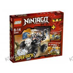 66394 - NINJAGO VALUE PACK - EDYCJA LIMITOWANA KLOCKI LEGO NINJAGO
