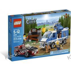 4441 SAMOCHÓD DLA PSÓW POLICYJNYCH (Police Dog Van) KLOCKI LEGO CITY