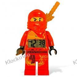 9003097 ZEGAR - CZERWONY NINJA KAI (LEGO® Ninjago Kai Minifigure Clock) LEGO NINJAGO