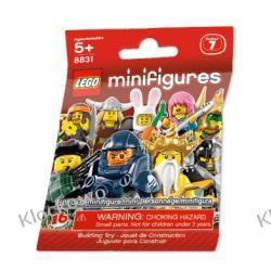 8831 - 1 SZT LOSOWO WYBRANEJ MINIFIGURKI - 7 SERIA LEGO MINIFIGURKI