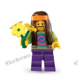 8831 - HIPIS  (Hippie) - 7 SERIA- KLOCKI LEGO MINIFIGURKI