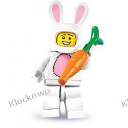 8831 - CZŁOWIEK W STROJU KRÓLICZKA  (Bunny Suit Guy) - 7 SERIA- KLOCKI LEGO MINIFIGURKI