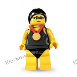 8831 - MISTRZYNI PŁYWACKA  (Swimming Champion) - 7 SERIA- KLOCKI LEGO MINIFIGURKI