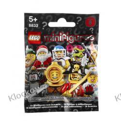 8833 - 1 SZT LOSOWO WYBRANEJ MINIFIGURKI - 8 SERIA LEGO MINIFIGURKI