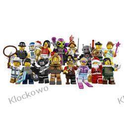 8833 - KOLEKCJA MINIFIGUREK KOMPLET 16 SZT 8 SERIA - KLOCKI LEGO MINIFIGURKI