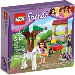 41003 ŹREBAK OLIVII (Olivia's Newborn Foal) KLOCKI LEGO FRIENDS