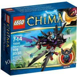70000 SZYBOWIEC RAZCALA (Razcal's Glider) KLOCKI LEGO LEGENDS OF CHIMA