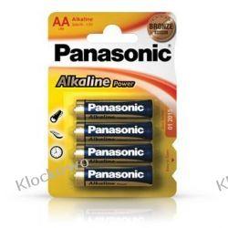 BATERIE ALKALICZNE PANASONIC AA LR6 - 4 SZT Kompletne zestawy