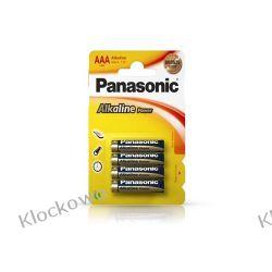 BATERIE ALKALICZNE PANASONIC AAA LR03 - 4 SZT Kompletne zestawy