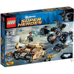 76001 The Bat vs. Bane : Tumbler Chase - KLOCKI LEGO BATMAN Creator