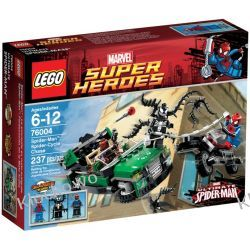76004 Spider-Man : Spider-Cycle Chase - KLOCKI LEGO SUPER HEROES Playmobil