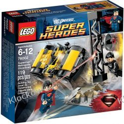 76002 STARCIE W METROPOLIS (Superman Metropolis Showdown)- KLOCKI LEGO SUPER HEROES Playmobil