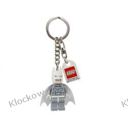 850815 BRELOK BIAŁY BATMAN (DC Universe Super Heroes Arctic Batman Key Chain)  LEGO BATMAN Miasto