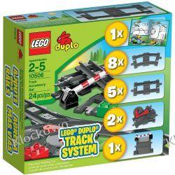 10506 TORY KOLEJOWE (Train Accessory Set) KLOCKI LEGO DUPLO  Creator