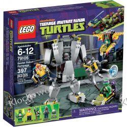 79105 SZALONY ROBOT BAXTER (Baxter Robot Rampage) - KLOCKI LEGO TURTLES Playmobil