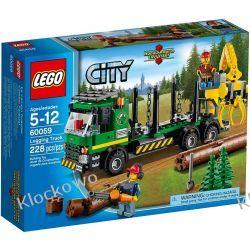 60059 CIĘŻARÓWKA DO TRANSPORTU DREWNA (Logging Truck) KLOCKI LEGO CITY