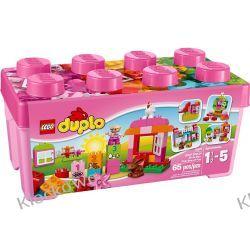 10571 ZESTAW Z RÓŻOWYMI KLOCKAMI (All-in-One-Pink-Box-of-Fun) KLOCKI LEGO DUPLO