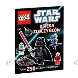 KSIĄŻKA LEGO STAR WARS - KSIĘGA ZŁOCZYŃCÓW