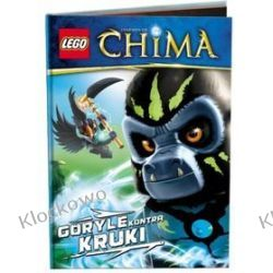 KSIĄŻKA LEGO LEGENDS OF CHIMA - GORYLE KONTRA KRUKI Friends