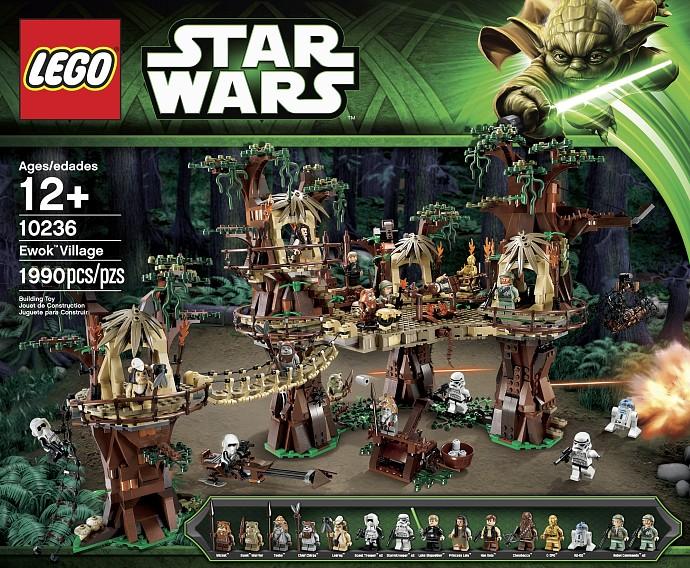 10236 Wioska Ewoków Ewok Village Klocki Lego Star Wars Na Bazarekpl