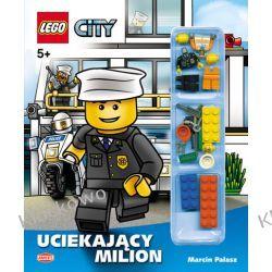 KSIĄŻKA LEGO CITY - UCIEKAJĄCY MILION