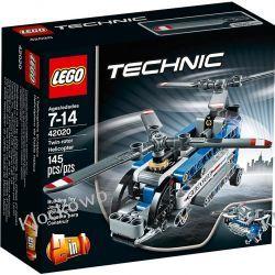 42020 ŚMIGŁOWIEC Z DWOMA WIRNIKAMI (Twin Rotor Helicopter) KLOCKI LEGO TECHNIC