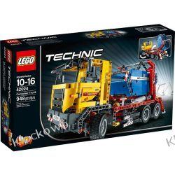42024 CIĘŻARÓWKA DO PRZEWOZU KONTENERÓW (Container Truck) KLOCKI LEGO TECHNIC