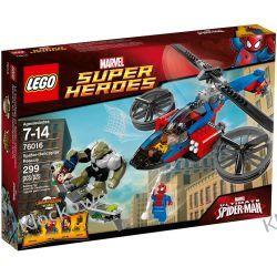 76016 CENTRUM RATUNKOWE PAJĄKA (Spider-Helicopter Rescue) - KLOCKI LEGO SUPER HEROES Budowa