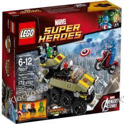 76017 KAPITAN AMERYKA (Avengers: Captain America vs. Hydra) - KLOCKI LEGO SUPER HEROES Creator