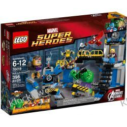 76018 ZNISZCZENIE LABORATORIUM HULKA (Avengers: Hulk Lab Smash) - KLOCKI LEGO SUPER HEROES Creator